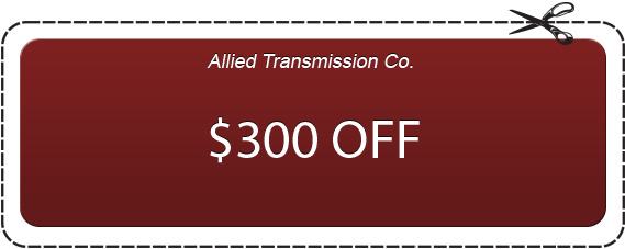 $300 OFF At Allied Transmission